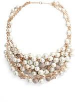 Jenny Packham Women's Shaky Drama Collar Necklace
