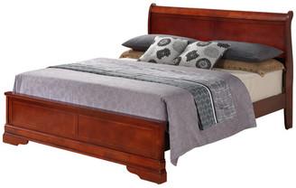 Glory Furniture Pinole Bed, Cherry, King
