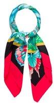 MCM Multicolor Floral Scarf