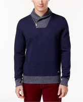 Tommy Hilfiger Men's Colorblocked Shawl-Collar Sweater