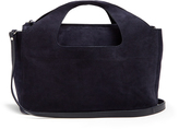 The Row Two For One suede shoulder bag