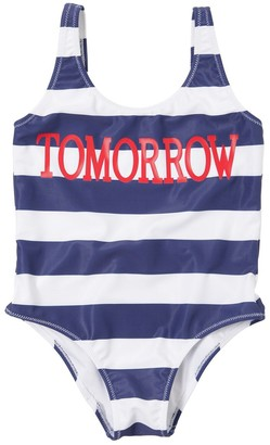 Alberta Ferretti Tomorrow Print Lycra One Piece Swimsuit