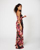 Nicole Miller Midnight Garden Felicity Gown