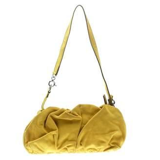 Dolce & Gabbana Yellow Suede Handbags
