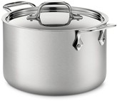 All-Clad d5 Stainless Brushed Steel 4 Quart Soup Pot with Lid