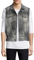 True Religion Distressing Jimmy Vest