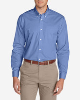 Eddie Bauer Men's Wrinkle-Free Classic FIt Pinpoint Oxford Shirt - Solid