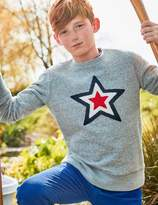 Boden Superstar Bouclé Sweatshirt