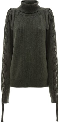 J.W.Anderson Cable Insert Turtle Neck Jumper
