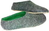 Men's Cork Soled Felt Slippers