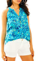 Lilly Pulitzer Bailey Silk Top