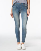 Vanilla Star Juniors' Mid-Rise Pull-On Skinny Jeans
