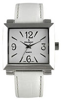 Peugeot Ladies Bold Square White Watch