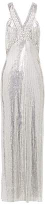 Paco Rabanne Chainmail Mesh Gown - Womens - Silver