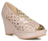 Celeste Hedy Metallic Wedge Sandal