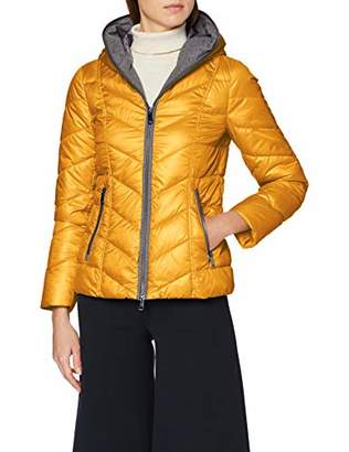 Taifun Women's 450066-130 Jacket, Orange (Saffron 50), 14 (Size: )