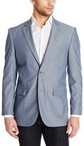 Perry Ellis Men's Blue Pin Stripe Sport Coat