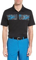 Travis Mathew Men's Quirky Brown Jersey Polo