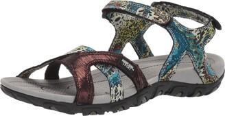Muk Luks Women's Women's Ophelia Sport Shoe-Turquoise Sandal