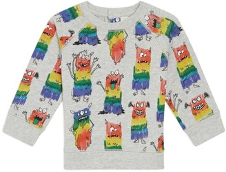 Stella McCartney Rainbow Monsters Sweater