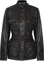 Belstaff Printed coated shell jacket