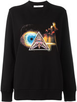 Givenchy Iconic Eye printed sweatshirt - women - Cotton - XS