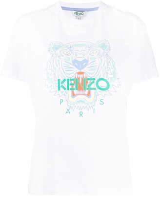 Kenzo Tiger print short-sleeved T-shirt