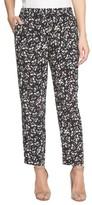 CeCe Women's Modern Ditsy Drawstring Pants