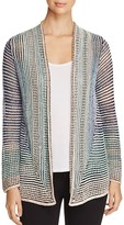 Nic+Zoe Stripped Away Sheer Stripe Cardigan