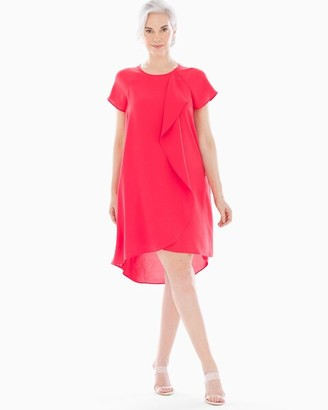 Soma Intimates Ruffle Front Short Dress Geranium