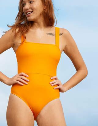 Aerie Bandeau One Piece Swimsuit