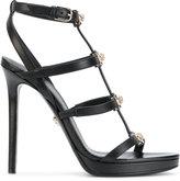 Versace Signature Medusa strap sandals - women - Leather - 36