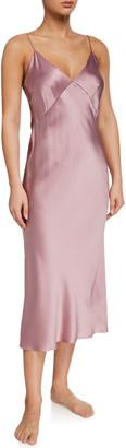 Olivia von Halle Issa Lust Silk Nightgown
