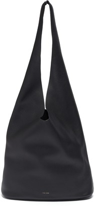 The Row Bucket Hobo' Top Handle Leather Shoulder Bag
