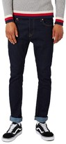 Topman Men's Stretch Skinny Fit Raw Denim Jeans