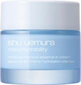 shu uemura Maxi:Hydrability Moisture Intensive Essence-In Cream