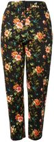 Topshop TALL Floral Jacquard Cigarette Trousers