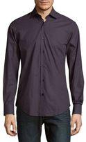Pal Zileri Regular-Fit Micro Pattern Dress Shirt