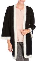 Qi Color Block Kimono Cardigan