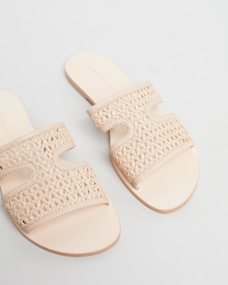 Atmos & Here Piper Leather Sandals