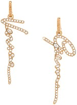 Versace Gianni drop earrings