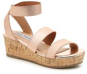 Steve Madden Jkriss Wedge Sandal - Kids'