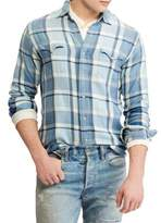 Polo Ralph Lauren Twill Plaid Western Shirt