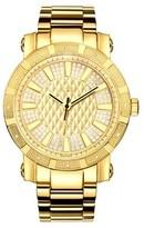 JBW Men's JB-6225-M 562 Swiss Movement Stainless Steel Real Diamond Watch - Gold
