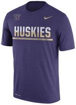 Nike Men's Washington Huskies Legend Staff Sideline T-Shirt