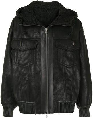 SONGZIO Reversible Faux-Shearling Jacket