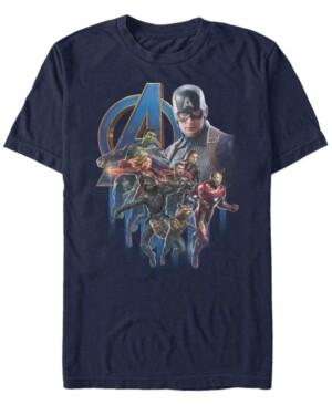 Marvel Men's Black Panther Shuri Action Pose Short Sleeve T-Shirt