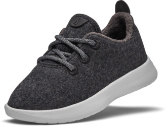 Allbirds Smallbirds Wool Runners - Kotare Jo (Natural Black Upper/Light Grey Sole)