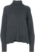 Isabel Marant turtleneck jumper - women - Polyamide/Camel Hair/Wool - 36