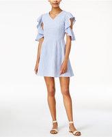 J.o.a. Cutout Fit & Flare Dress